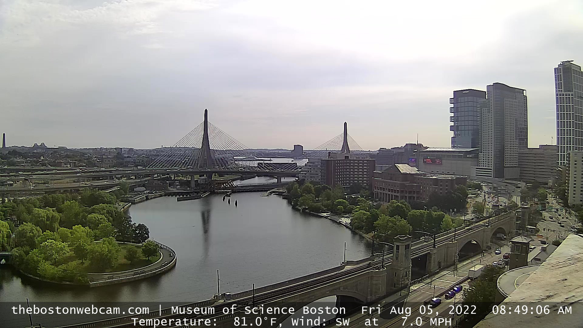 Charles River / Zakim Bridge