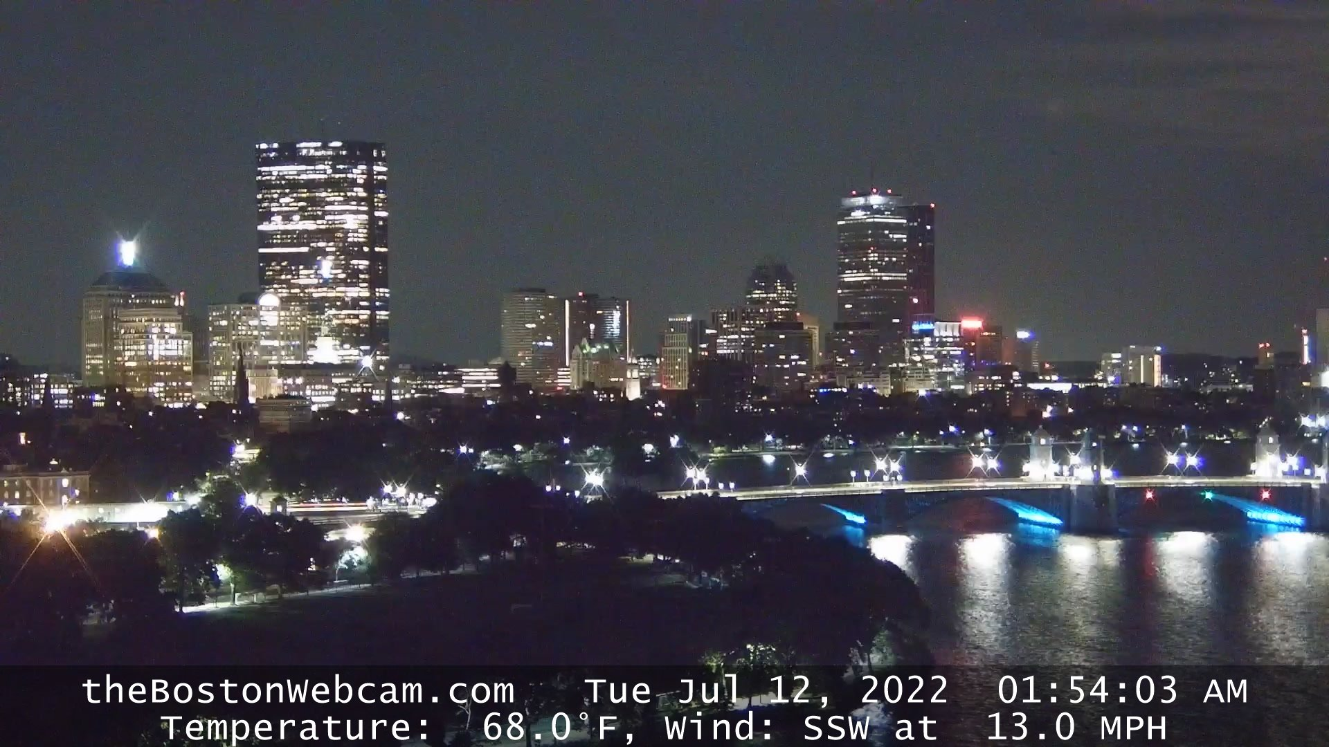 Longfellow Bridge Over Charles River