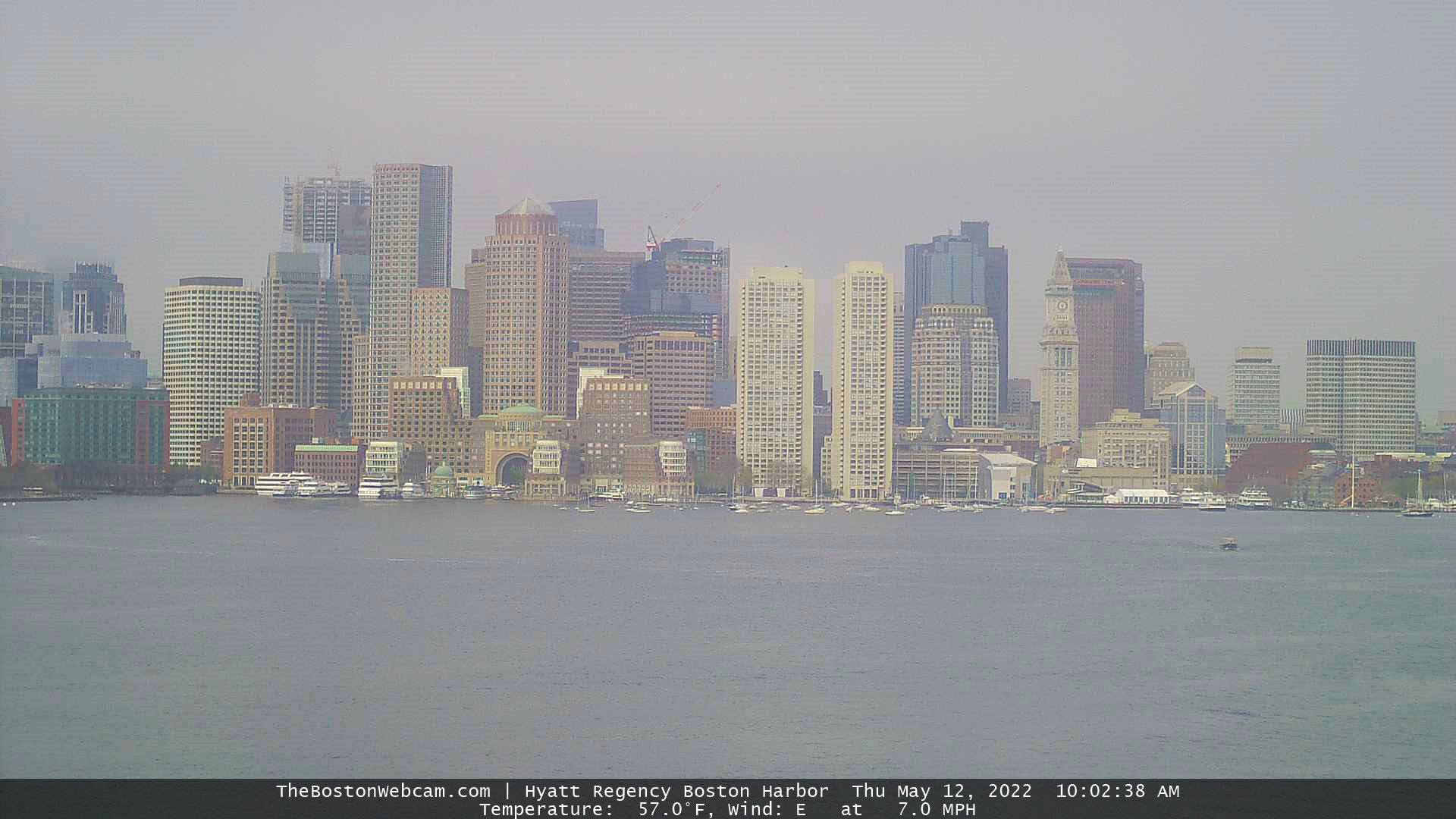 Boston Webcams – City Skyline – Memorial Bridge